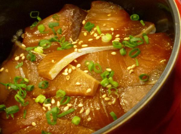 天然ぶりの漬け丼セットのイメージ画像