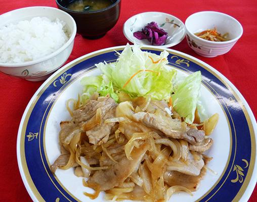 第1位「たっぷり豚肉と玉ねぎの生姜焼き定食」のイメージ画像