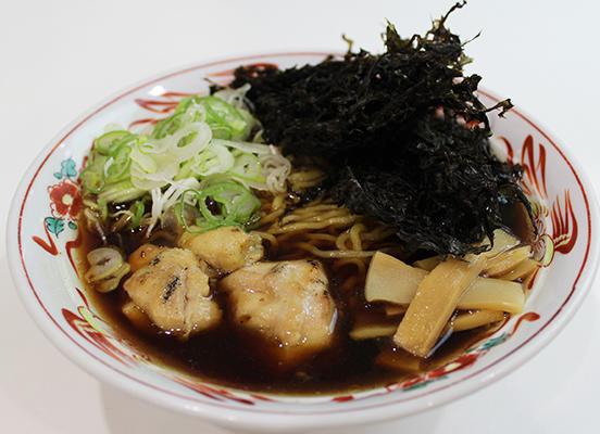 第3位「黒醤油磯のりラーメン」のイメージ画像