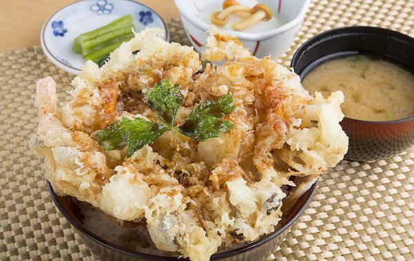 第2位「長芋かき揚丼」のイメージ画像