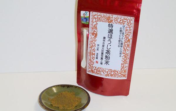 第2位「特選ほうじ茶粉末」のイメージ画像
