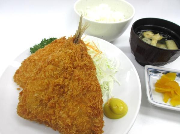 第2位「アジフライ定食」のイメージ画像