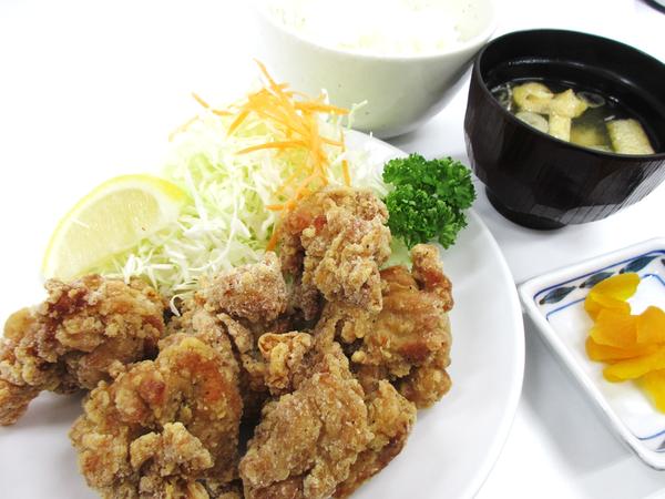第2位「鶏竜田揚げ定食」のイメージ画像