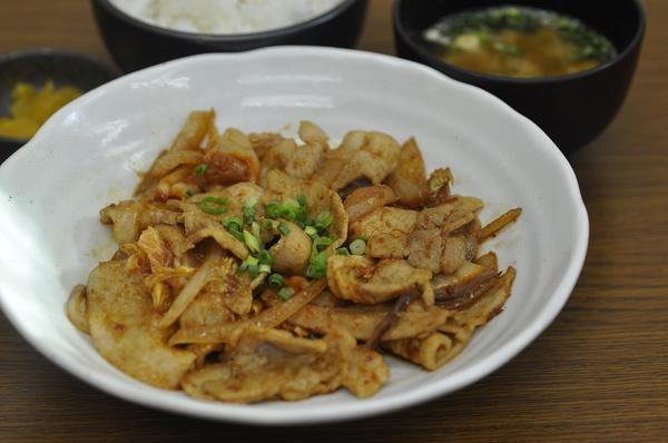 第2位「豚キムチ定食」のイメージ画像