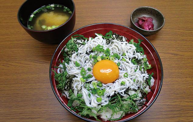 第1位「湘南しらす丼」のイメージ画像