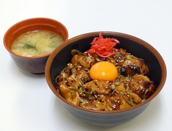 第3位「焼き鳥丼」のイメージ画像