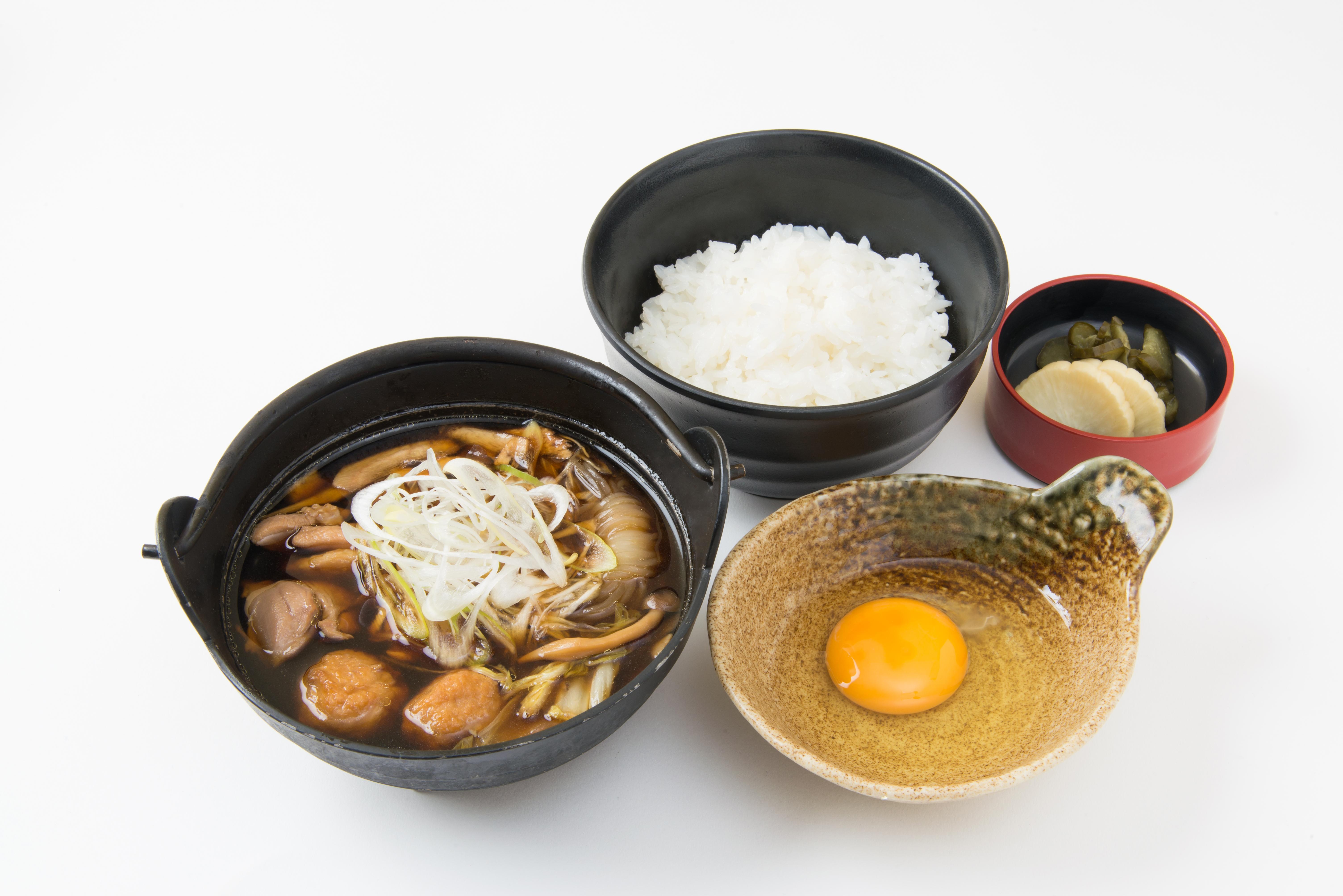 五鉄しゃも鍋定食 / 1,500円