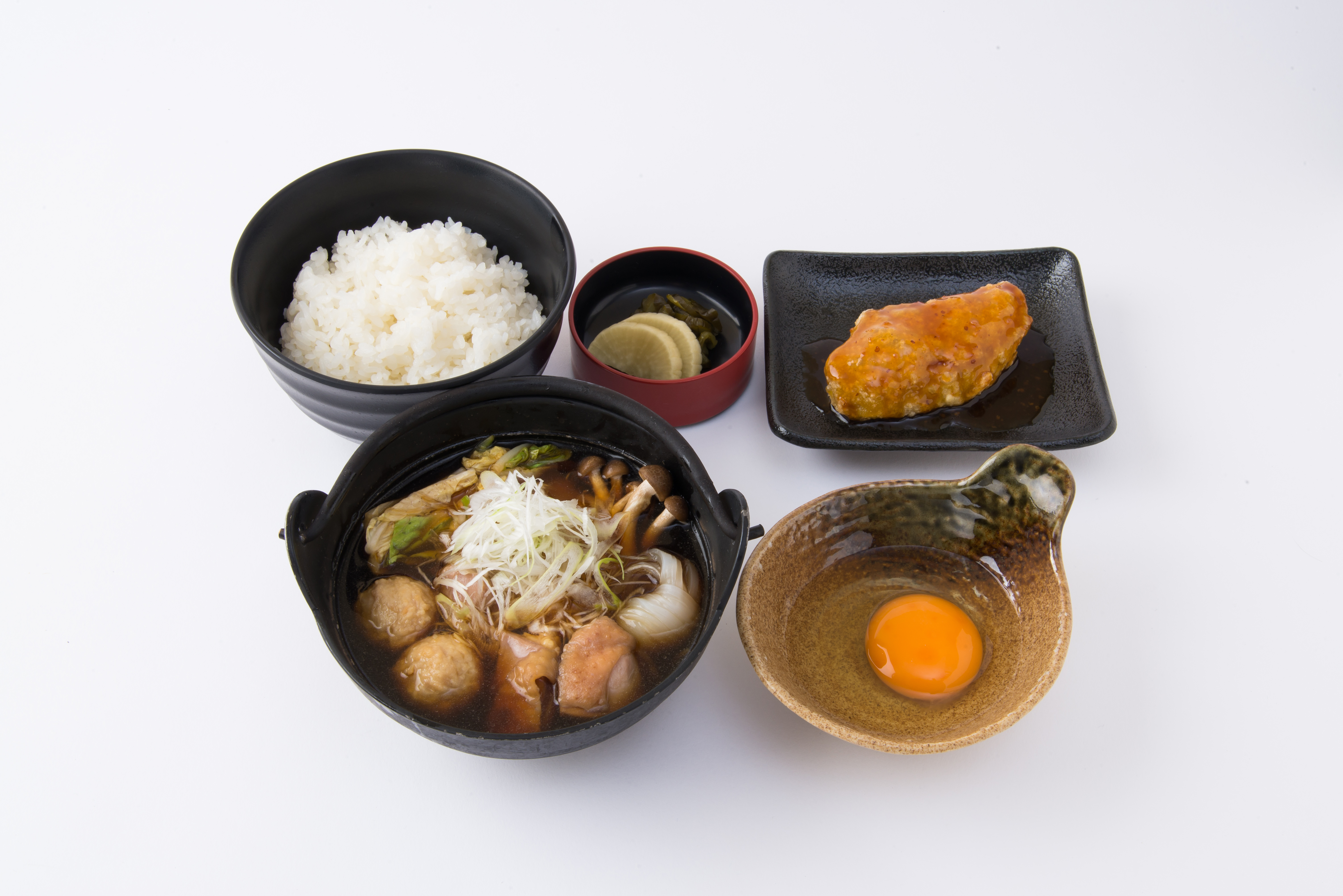 特上軍鶏鍋定食 / 2300円