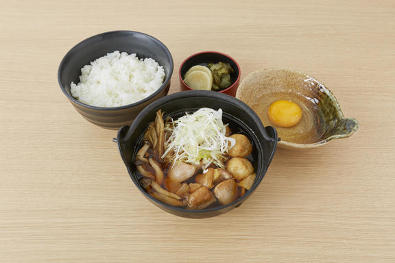 おすすめベスト3 五鉄しゃも鍋定食 / 1,500円(税込)