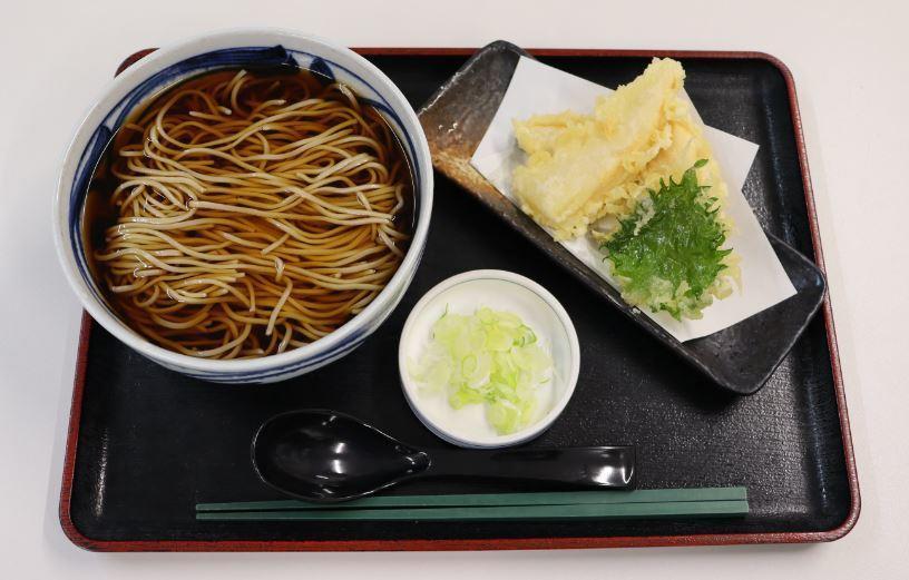おすすめベスト2 若竹天ぷらそば/1,000円