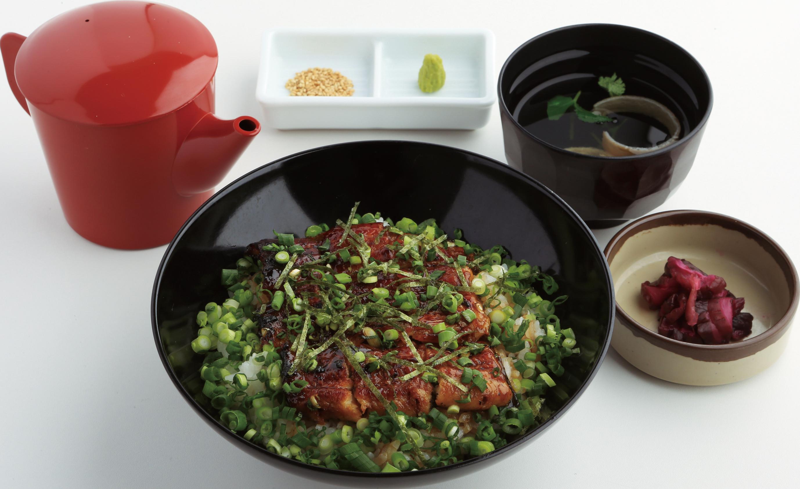おすすめベスト2 青ネギうな丼/1,950円