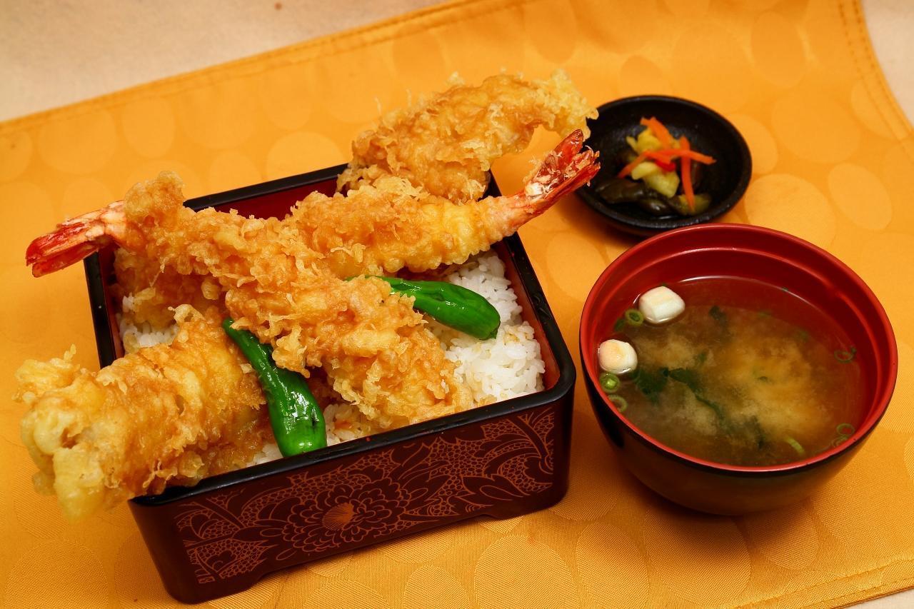 おすすめベスト1 大海老穴子天重 / 1410円
