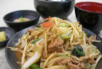 味噌野菜炒定食 / 770円