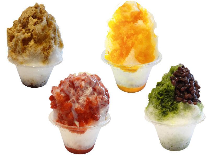 くず餅乳酸菌®  かき氷